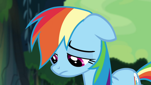 File:Rainbow Dash losing all hope S4E04.png