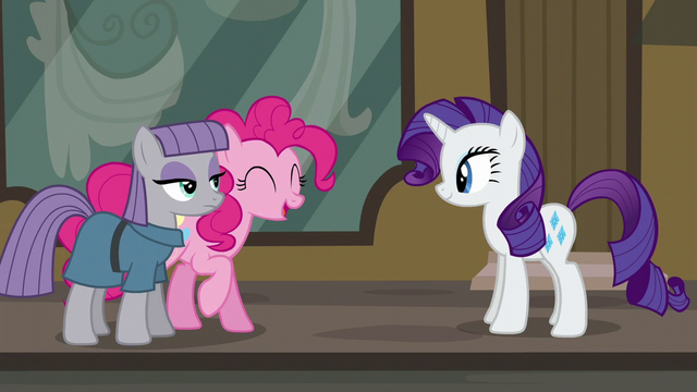 "File:Pinkie Pie ""washing your hooves for a long time"" S6E3.png"