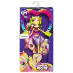 Fluttershy Equestria Girls Rainbow Rocks doll packaging