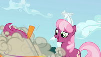Cheerilee looking at CMC fighting S2E01