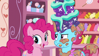 "Pinkie Pie ""it is delicious!"" S6E6"