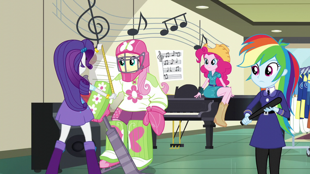 File:Rarity taking Fluttershy's measurements EG3.png