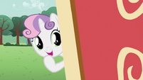 Sweetie Belle smiling S2E23