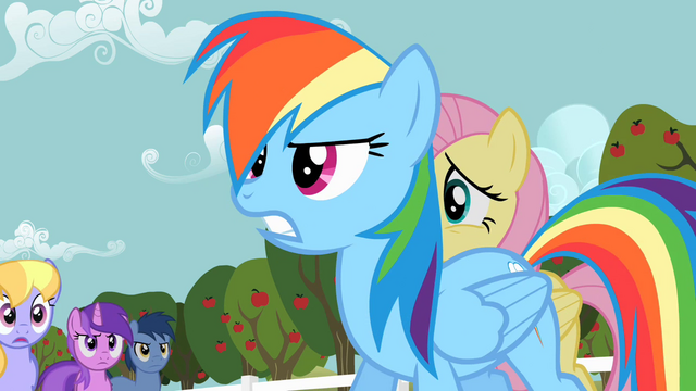 File:Rainbow Dash frustrated S02E15.png