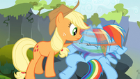 Rainbow Dash shakes her head S3E09