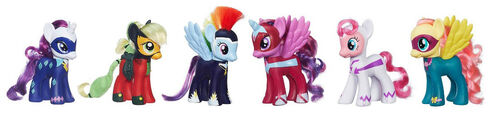 Power Ponies Fashion Style set