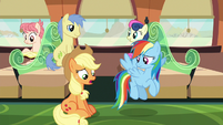 "Applejack ashamed ""guess not"" S6E18"