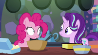 """Pinkie Pie """"what would you like to do first?"""" S6E21"""