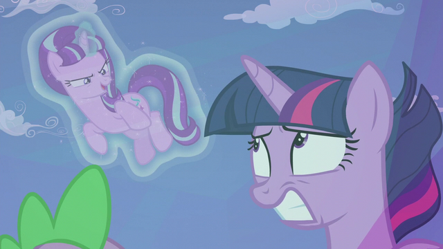 "File:Starlight ""why else would I leave the scroll behind?"" S5E25.png"