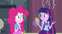 "Twilight shrugging ""maybe?"" EG"