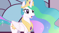 "Celestia ""you must keep your new abilities a secret"" S4E26"