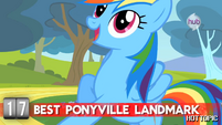 "Hot Minute with Rainbow Dash ""where you can see everything!"""