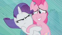 Rarity Pinkie oops S2E02