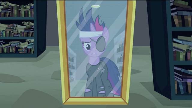 File:Twilight looking at herself in mirror S2E20.png