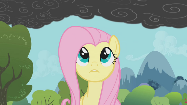 File:Fluttershy notices the smoke 2 S01E07.png