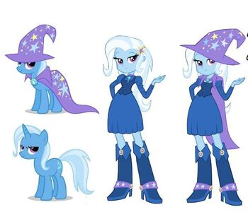 Human Trixie (Early Version)
