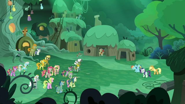 File:Ponies see 'Rarity', 'Rainbow Dash', and 'Applejack' S5E26.png