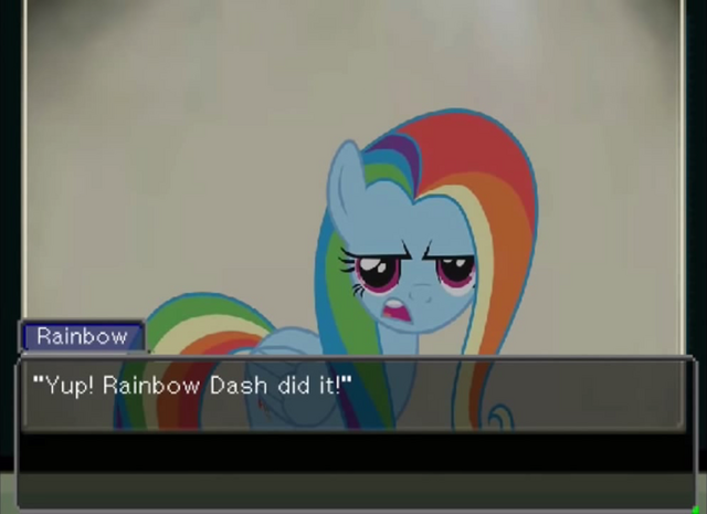 File:FANMADE Rainbow Dash with Fluttershy's manestyle Turnabout Storm.png