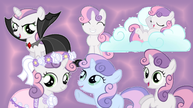 File:FANMADE Sweetie Belle Collage Mewkat14.png