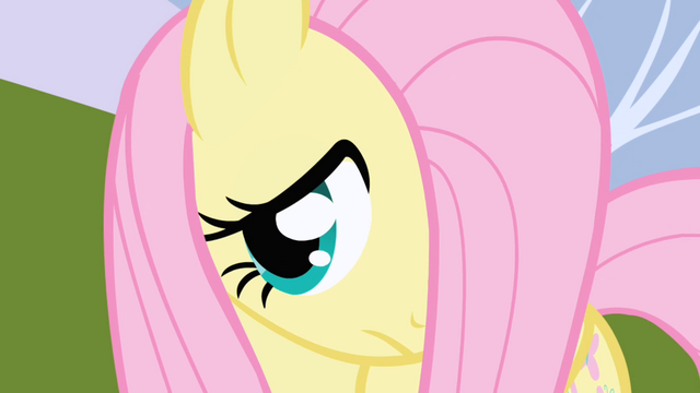 File:Fluttershy watches Twilight turn around and talk to Spike S1E01.png