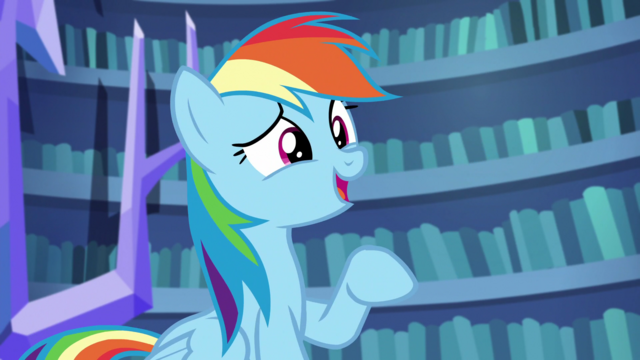 "File:Rainbow Dash ""tonight?"" S5E21.png"
