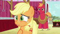 "Young Applejack ""it's the apple blight!"" S6E23"