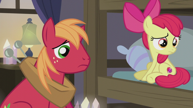 File:Bloom and Mac listening to Granny Smith S5E20.png