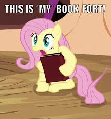 File:FANMADE Fluttershy's book fort.jpg