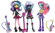 Photo Finish and the Snapshots Equestria Girls Ponymania dolls