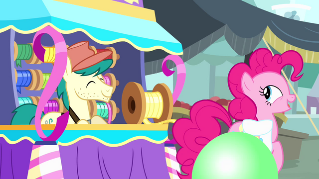 File:Pinkie Pie trotting away from streamer vendor S4E12.png