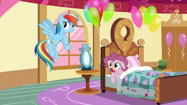"File:Rainbow Dash ""on second thought"" S6E15.png"