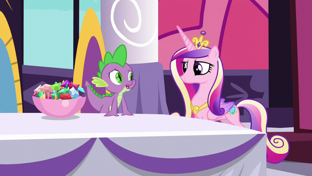 "File:Spike ""Twilight's a great princess"" S5E10.png"