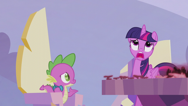 "File:Twilight wailing ""I don't know!"" S5E25.png"
