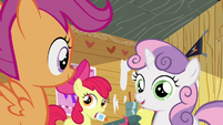 CMC in clubhouse 1 S2E17