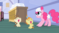 Pinkie Pie she lost S2E13