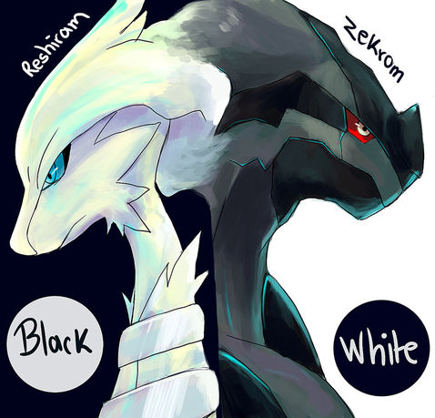 File:Reshiram and Zekrom by fernitotal.jpg