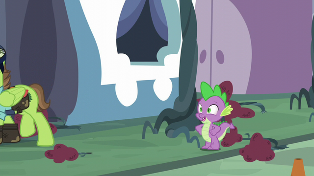 "File:Spike ""I've got the princesses on my side"" S5E10.png"