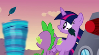 Twilight 'she's doing it' S2E22