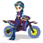 Friendship Games Indigo Zap Sporty Style artwork