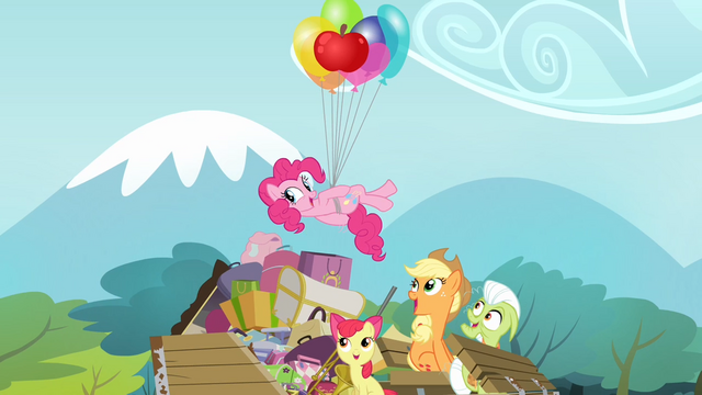 File:Pinkie Pie swimming in the air S4E09.png