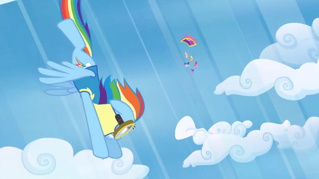 File:Rainbow Dash to the rescue S3E7.png