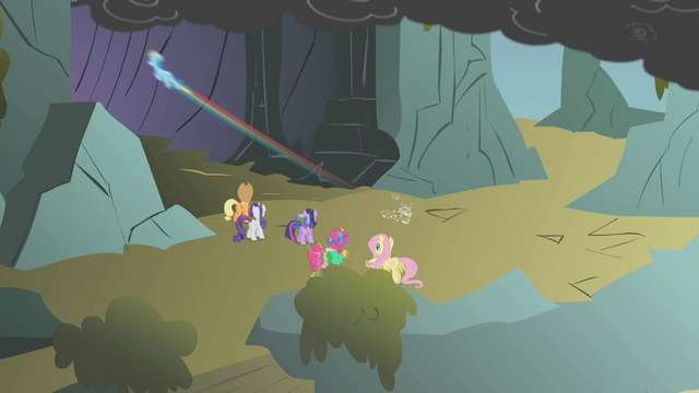 File:Rainbow speeds into the cave S1E07.png