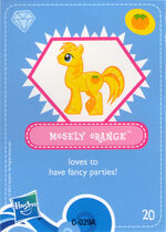 Wave 4 Mosely Orange collector card