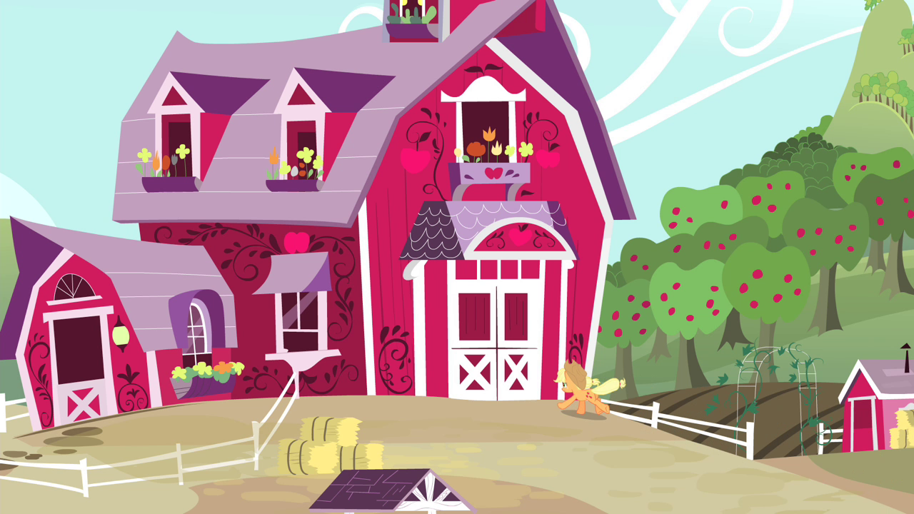 Image Applejack Galloping Towards Her Home S4e13 Png