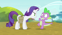 "Rarity ""what do you think you're doing?!"" S4E23"