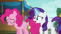 "Rarity ""that party cannon is your everything!"" S6E3"