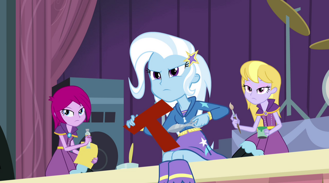 File:Trixie and friends glaring at Sunset EG2.png