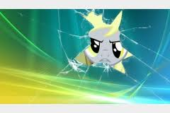 File:FANMADE Derpy cracked screensaver.jpg
