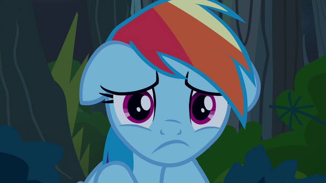 "File:Rainbow Dash ""what have I done?"" S4E04.png"