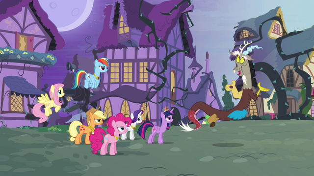 File:Main six and Discord reach an impasse S4E01.png